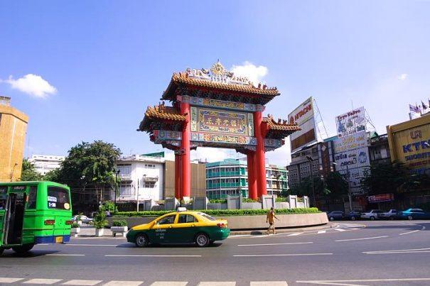 タイ バンコクヤワラート 門