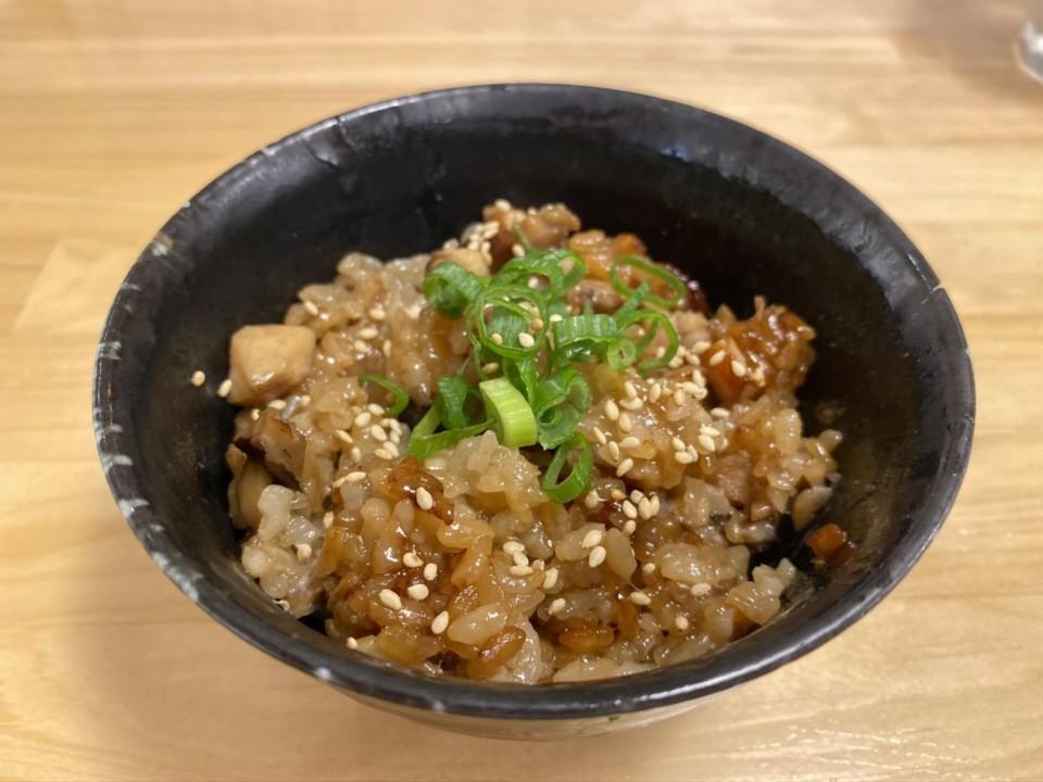 「中華そば高野(TAKANO)」中華鶏おこわ大150円