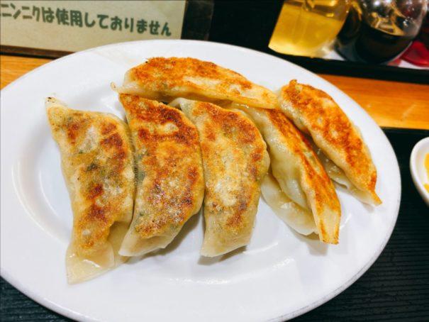 らーめん三吉(さんきち) 餃子6個400円