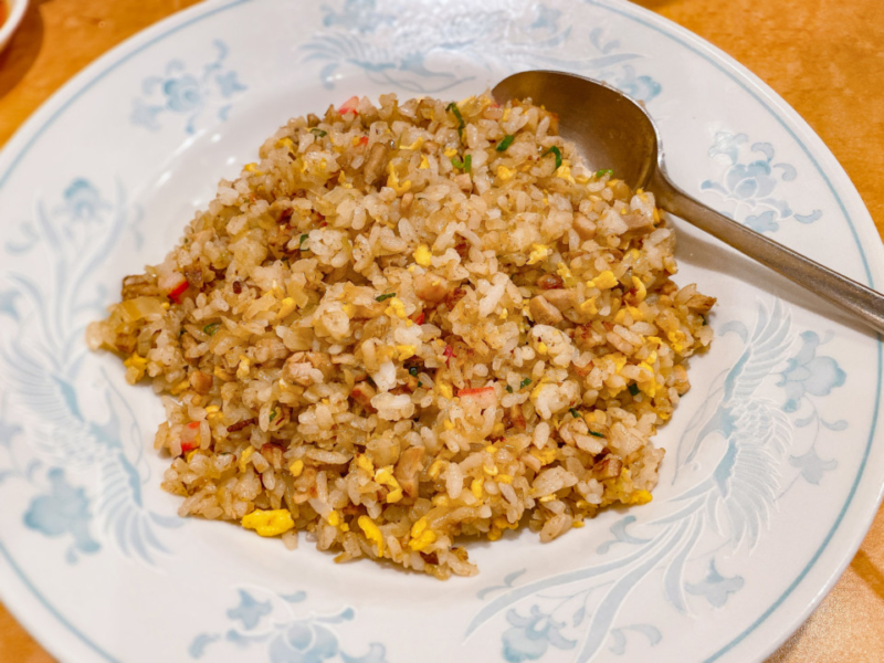 大口寺尾屋の炒飯